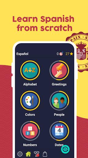 Learn Spanish - Beginners screenshots 1