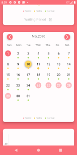 Period Tracker MMD. Ovulation & Pregnancy Calendar