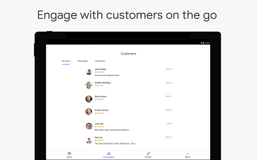 Google My Business - Connect with your Customers 3.33.0.346655744 Screenshots 8