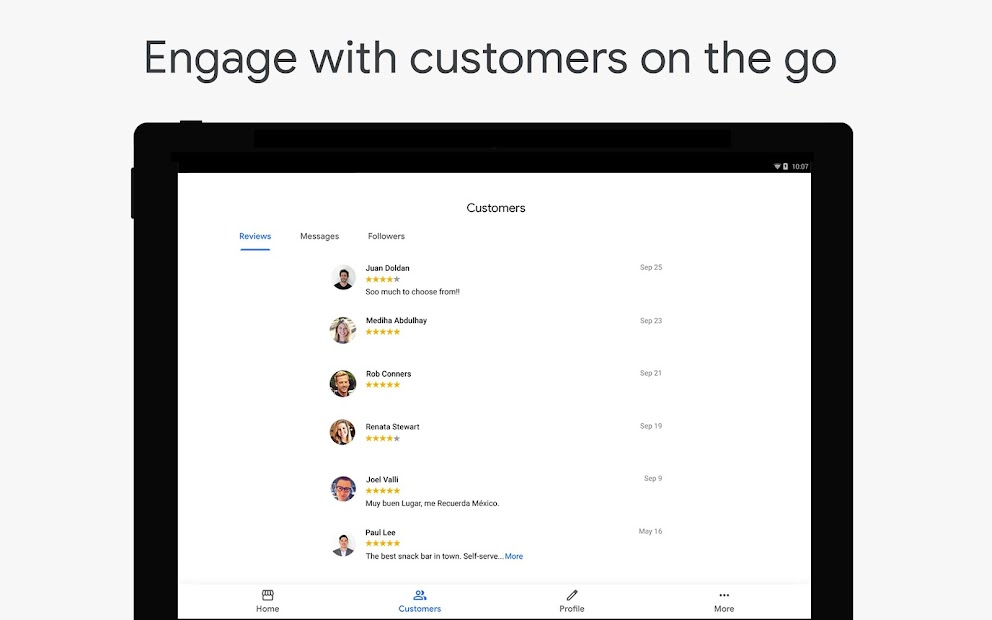 Google My Business - Connect with your Customers screenshot 7