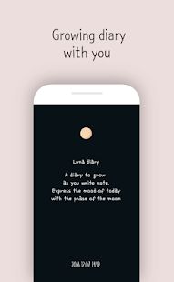 Luna diary - journal on the moon Screenshot