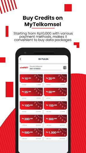 MyTelkomsel u2013 Check & Buy Packages, Redeem POIN 5.10.3 Screenshots 3