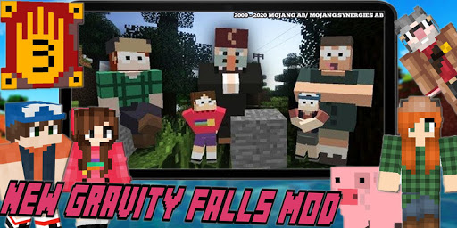 New Mystery Gravity Falls Town Mod For MCPE Craft goodtube screenshots 1