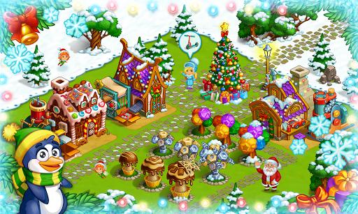 Farm Snow: Happy Christmas Story With Toys & Santa screenshots 7