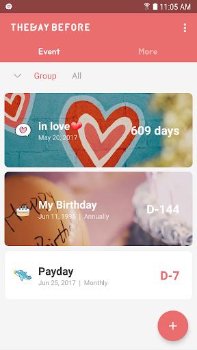 TheDayBefore (days countdown) apktram screenshots 8