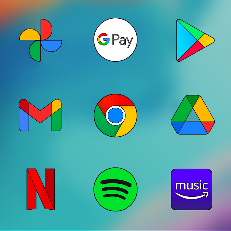 Oxigen HD - Icon Pack  poster 3