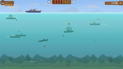 Télécharger Submarine Samurai: Modern Battleship War Game APK MOD (Astuce) screenshots 1