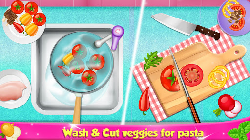 Italian Pasta Maker: Cooking Continental Foods apktram screenshots 7