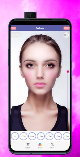 Face Makeup & Beauty Selfie Makeup Photo Editor 1.2 Screenshots 3