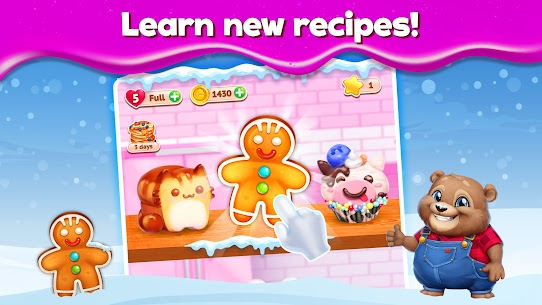 Sweet Escapes: Design a Bakery Mod Apk (Unlimited Star/Life) 9