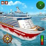 Real Cruise Ship Driving Simulator 3D: Ship Games app apk icon