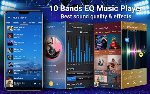 Music Player - MP3, Equalizer android2mod screenshots 1