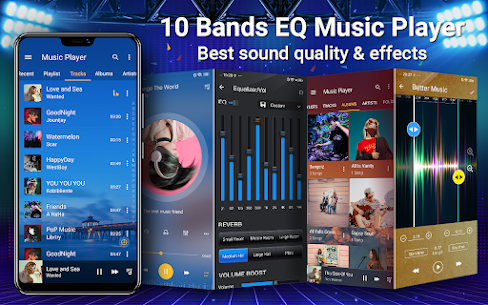 Music Player – 10 Bands Equalizer MP3 Audio Player Apk Download NEW 2021 1