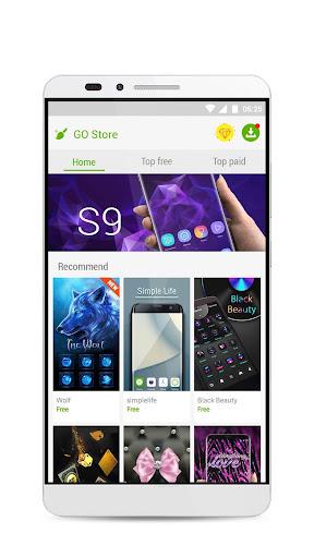 GO Launcher S u2013 3D Theme, Wallpaper & Sticker  Screenshots 6