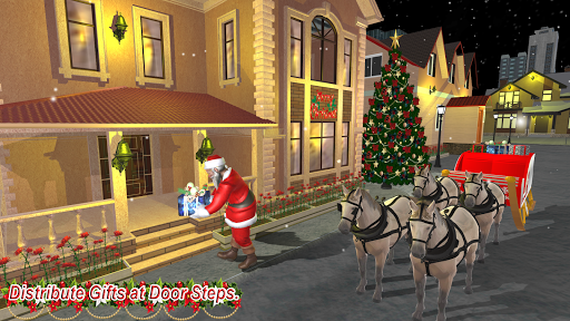 Christmas Flying Santa Gift Delivery apkdebit screenshots 7