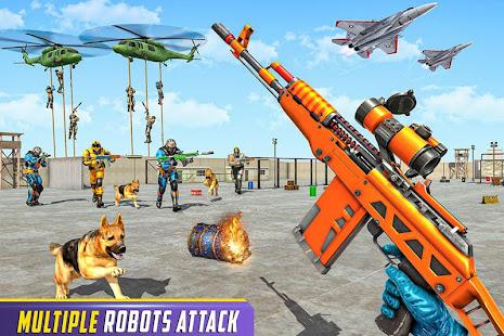 Download Robot Fps Shooting Games: Counter Terrorist Strike For PC Windows and Mac apk screenshot 5