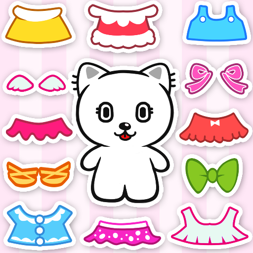 Kitten Avatar Maker: Cat Dress Up Game