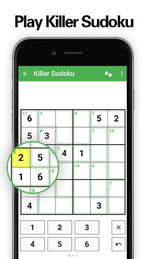 Killer Sudoku 2.0.2 screenshots 1