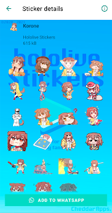 Hololive Stickers