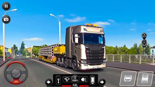 Euro Truck Parking Simulator 2021: 3d parking Game apktreat screenshots 2
