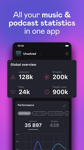 Deezer for Creators apktram screenshots 1