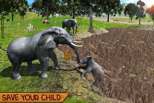 Wild Elephant Family Simulator apkpoly screenshots 18