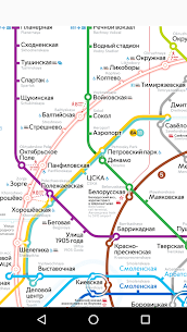 Moscow metro map 1.2.6 Mod APK Updated 1
