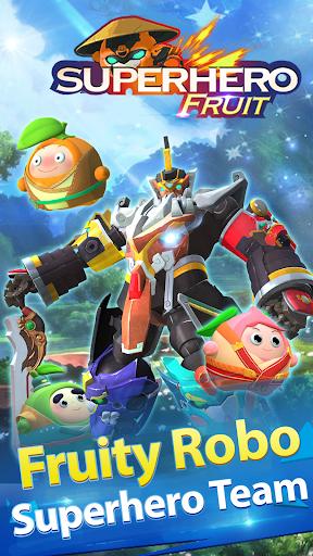 Superhero Fruit: Robot Wars - Future Battles android2mod screenshots 2