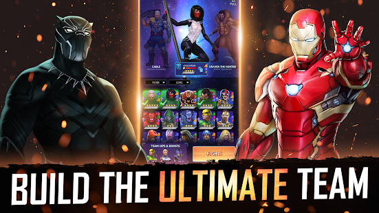 MARVEL Puzzle Quest: Join the Super Hero Battle! Screenshot