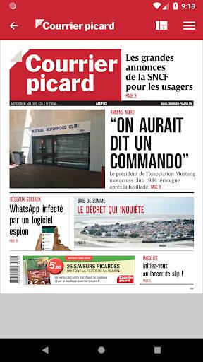 Courrier Picard : l'info locale, France et monde 5.19.2 screenshots 4