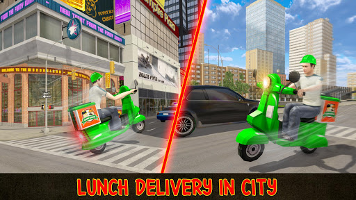 Moto Bike Pizza Delivery Games 2021: Food Cooking 1.12 screenshots 5