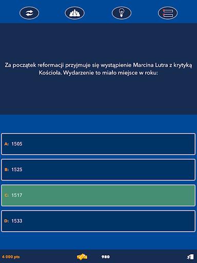 Super Quiz - Wiedzy Ogu00f3lnej Polskie screenshots 10