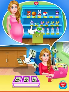 Mommy & newborn baby shower - Babysitter Game Screenshot