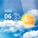 天気予報ウィジェット Android