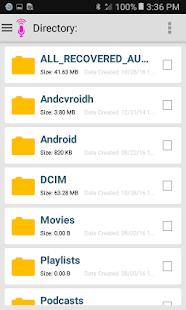 Audio Recovery 4.8 APK screenshots 3