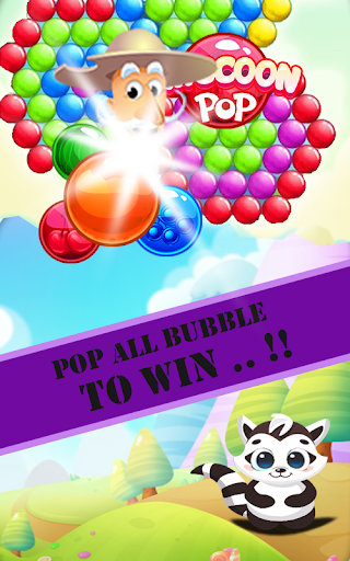 Raccoon Pop - Bubble Shooter Fun Game For PC Windows (7, 8, 10, 10X) & Mac Computer Image Number- 7