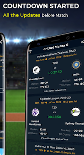 Cricket Mazza 11 Live Line & Fastest IPL Score Mod 2.08 Apk [Unlocked] 3