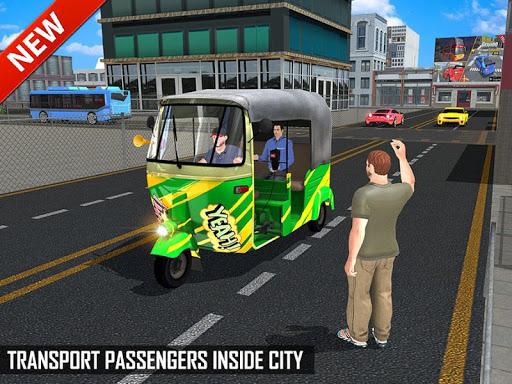 Tuk Tuk Auto Rickshaw Offroad Driving Games 2020 android2mod screenshots 14