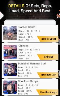 Pro Gym Workout (Gym Workouts & Fitness) 5.4 Screenshots 16