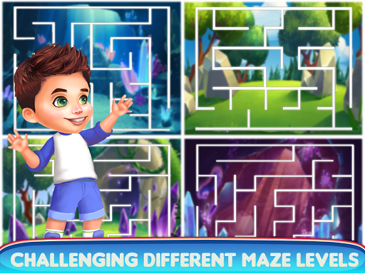 kids maze : educational puzzle game for kids screenshot 3