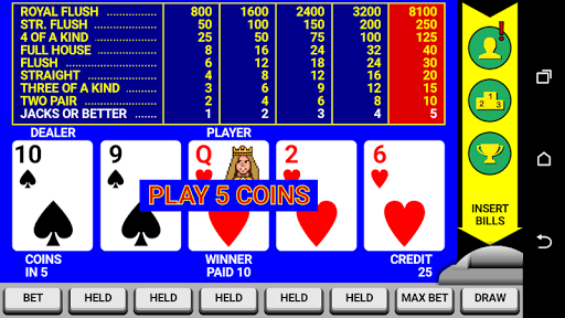 Video Poker Classic Double Up 6.20 screenshots 4