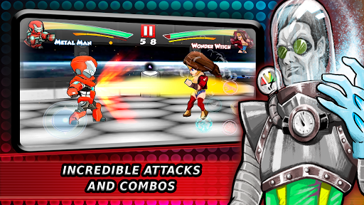 Superheroes Fighting Games Shadow Battle 7.3 screenshots 5