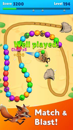 Marble Wild Friends - Shoot & Blast Marbles  screenshots 1