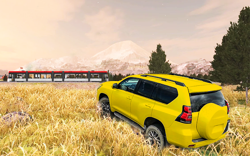 Offroad car driving:4x4 off-road rally legend game  screenshots 14