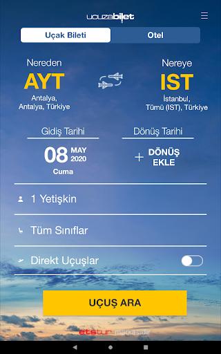 Ucuzabilet - Flight Tickets 3.1.8 Screenshots 9