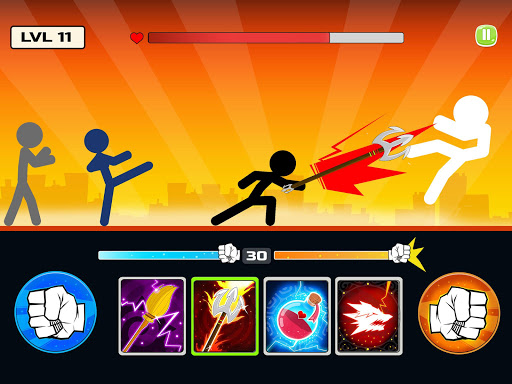 Stickman Fighter : Mega Brawl (stick fight game) 21 screenshots 2