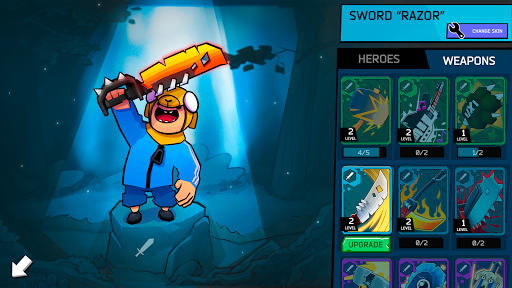 Fury Wars - online shooting game, third person.  screenshots 4