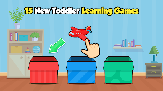 Toddler Games for 2, 3 year old kids - Ads Free 2.1 Screenshots 1