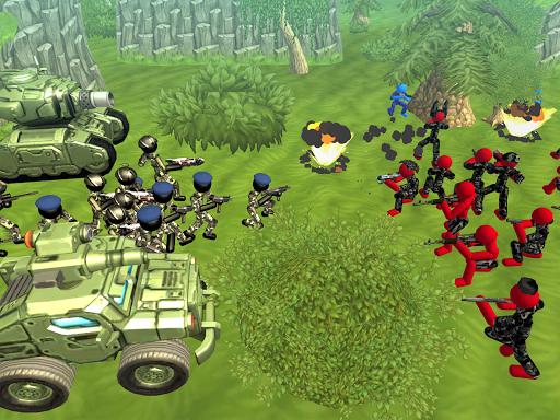 Stickman Tank Battle Simulator 1.10 screenshots 7