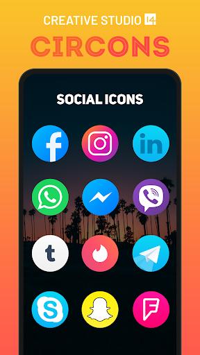 circons icon pack - colorful circle icons screenshot 2